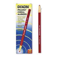 Dixon China Marker, Red, Dozen DIX00079