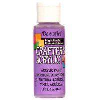 Deco Art Bright Purple Crafter's Acrylic Paint   NOTM304618