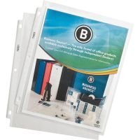 Business Source Top Loading Sheet Protectors BSN74551