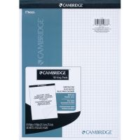 Mead Quad Ruled Stiff - Back Planning Pad - Letter MEA59878
