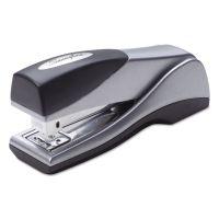 Swingline Optima Grip Compact Stapler, Half Strip, 25-Sheet Capacity, Silver SWI87816