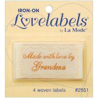 Iron-On Lovelabels 4/Pkg NOTM102058