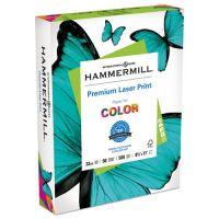 Hammermill Laser Print Office Paper, 98 Brightness, 32 lb, 8 1/2 x 11, White, 500 Sheets/Ream HAM104646