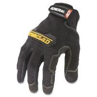 Ironclad General Utility Spandex Gloves, Black, Large, Pair IRNGUG04L