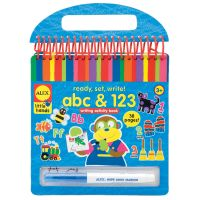 ALEX Toys Little Hands Ready, Set, Write! abc & 123 Writing Activity Book  NOTM436387