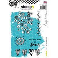 Carabelle Studio Cling Stamp A6 By Birgit Koopsen NOTM022473