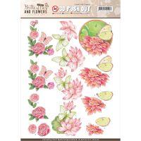 Find It Jeanine's Art Classic Butterflies & Flowers Punchout NOTM321961