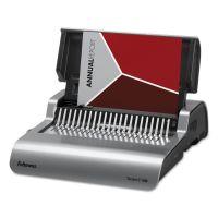 Fellowes Quasar 500 Electric Comb Binding System, 16 7/8 x 15 3/8 x 5 1/8, Metallic Gray FEL5216901