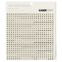 "Mini Alphabet Stickers 5.9""X5.9"" Sheet NOTM424458"