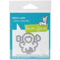 Lawn Cuts Octopi My Heart Custom Craft Die NOTM305439