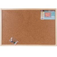 "Framed Cork Memo Board 16""X24"" NOTM448126"