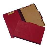 SKILCRAFT Heavy-Duty Red Classification Folder NSN5234594