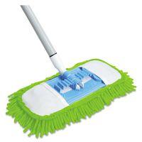 """Quickie Microfiber Dust Mop, 48"""" Steel Handle, Blue QCK060"""