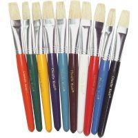 ChenilleKraft Flat Hog Bristle Paint Brushes CKC5184