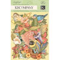 Spring Blossom Die-Cut Cardstock & Acetate NOTM463089
