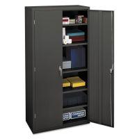 HON Assembled Storage Cabinet, 36w x 18-1/4d x 71-3/4h, Charcoal HONSC1872S