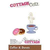CottageCutz Coffee & Donuts Die NOTM432559