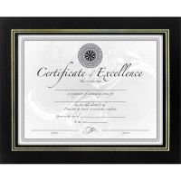 DAX Leatherette Picture/Certificate Frame DAXN3192NB