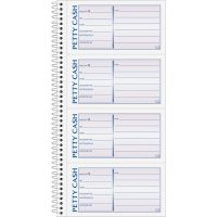 Adams 2-Part Petty Cash Receipt Book ABFSC1156