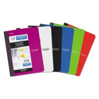 Five Star Composition Book, College Rule, 9 3/4 x 7 1/2, 1 Subject, 100 Sheets, Assorted MEA09120