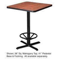 "Safco Mayline Hospitality Table ""X"" Pedestal Base, 41"" High, Black MLNCA41B2025"