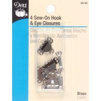 Sew-On Hooks & Eyes  NOTM091259
