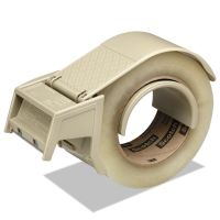 "Scotch Compact and Quick Loading Dispenser for Box Sealing Tape, 3"" Core, Plastic, Gray MMMH122"