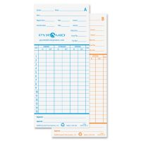 Pyramid Monthly Time Cards for 2600 Time Recorders PTI42415