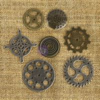 Mechanicals Metal Embellishments NOTM258304