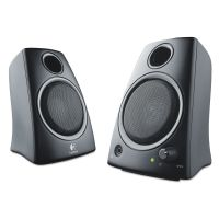 Logitech Z130 Compact 2.0 Stereo Speakers, 3.5mm Jack, Black LOG980000417