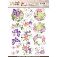 Find It Jeanine's Art Classic Butterflies & Flowers Punchout NOTM321959