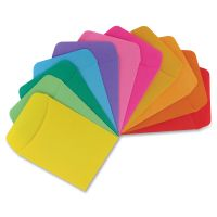 Hygloss Nonadhesive Library Pockets HYX15630