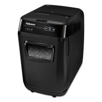 Fellowes AutoMax 200M Auto Feed Shredder, 200 Sheet Capacity, Black FEL4656201