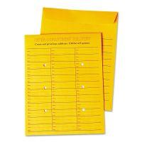 Universal Interoffice Press & Seal Envelope, 10 x 13, Brown, 100/Box UNV63570