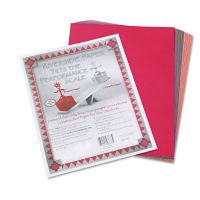 Pacon Riverside Construction Paper, 76 lbs., 9 x 12, Assorted, 50 Sheets/Pack PAC103637