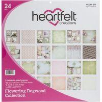 "Heartfelt Creations Double-Sided Paper Pad 12""X12"" 24/Pkg NOTM303588"