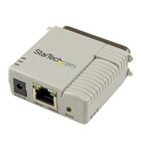 StarTech.com 1 Port 10/100 Mbps Ethernet Parallel Network Print Server SYNX3734523