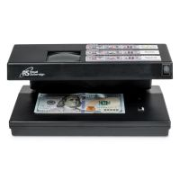 Royal Sovereign Portable 4-Way Counterfeit Detector, UV, Fluorescent, Magnetic, Magnifier RSIRCD2000