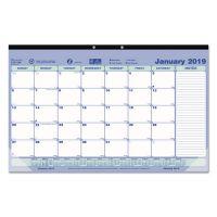 Brownline Monthly Desk Pad Calendar, 17 3/4 x 10 7/8, 2019 REDC181700
