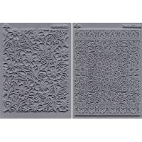 "Lisa Pavelka Texture Stamp Set 4.25""X5.5"" 2/Pkg NOTM462882"
