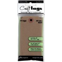 Inkssentials Brown Kraft Surfaces 20/Pkg NOTM126020