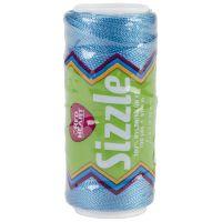 Red Heart Sizzle Nylon Crochet Thread - Parakeet NOTM068832
