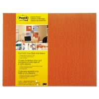 Post-it Cut-to-Fit Display Board, 18 x 23, Tangelo, Frameless MMM558FTNG