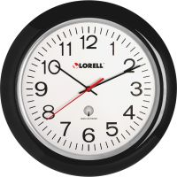 "Lorell 13-1/4"" Radio Controlled Wall Clock LLR60994"