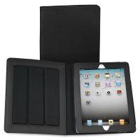 Samsill Fashion iPad Case for iPad Air, Debossed Pattern, Black SAM35007