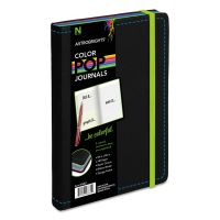 Astrobrights ColorPop Journal, College Ruled, 8 1/4 x 5 1/8, Black, 240 Sheets NEE98831