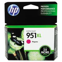 HP 951XL, (CN047AN) High Yield Magenta Original Ink Cartridge HEWCN047AN
