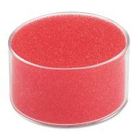 "Universal Sponge Cup Moistener, 3"" Dia, Clear UNV56503"