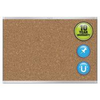 Quartet Prestige 2 Magnetic Cork Bulletin Board, 36 x 24, Aluminum Frame QRTMC243AP2
