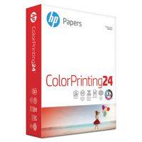 HP Color Inkjet Paper, 97 Brightness, 24lb, 8-1/2 x 11, White, 500 Sheets/Ream HEW202000